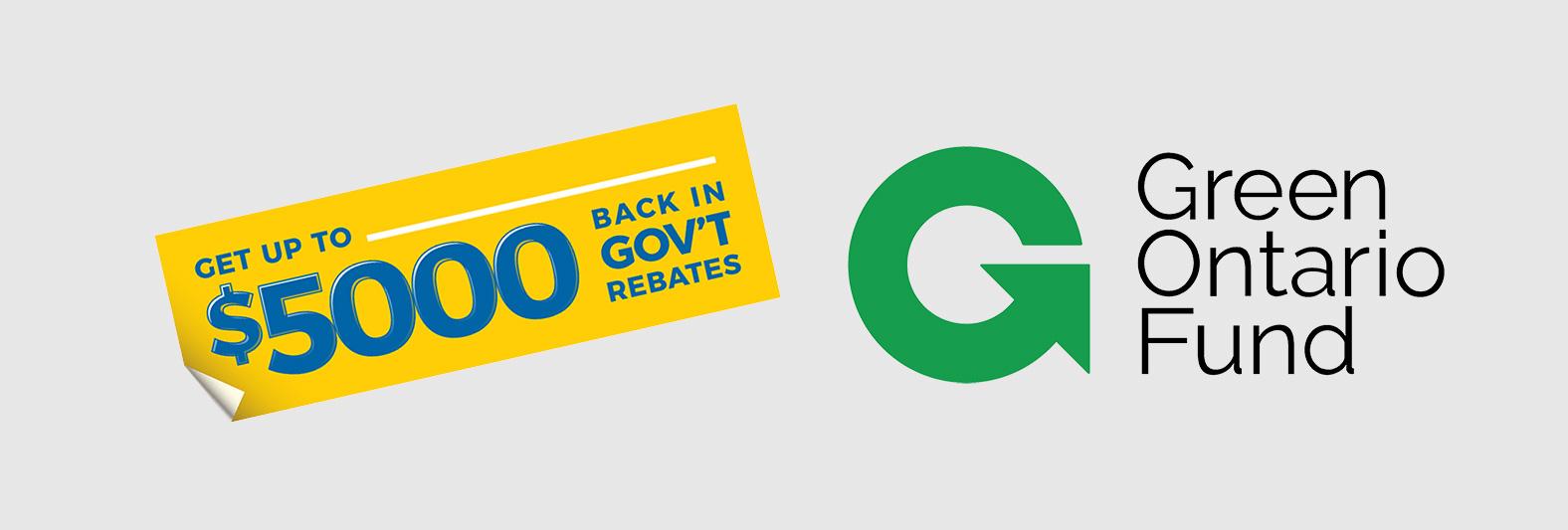 GreenON $5,000 Rebate Program