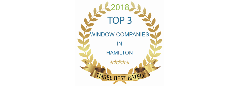 2018 three best rated window companies hamilton
