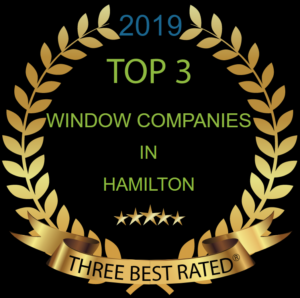 top 3 window companies hamilton