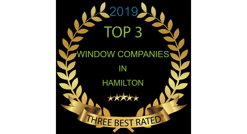 top 3 window companies hamilton ontario
