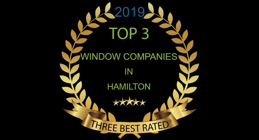 top 3 window companies hamilton ontario
